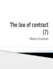 Buslaw 1 - Part B _6_ - Contract _Breach_.pptx