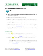 BUSI 4940_Airlines_Industry.1