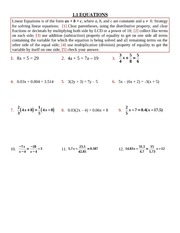 1.2 Quadratic Equations