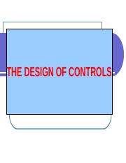 Chap IV - Design of Controls.ppt