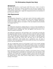 Lab 2 - Case Study (Wellmeadows Hospital).pdf
