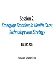 Session2 - Business functions and conflics in economies & disruption in business and healthcare (DC)