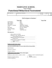 MG FBA complete assignment