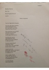 Twas the night before christmas parody assignment