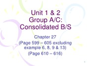 Unit 1&2 - Consolidated BS(revised)