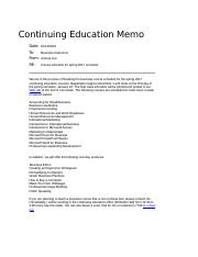 Lee_Joshua_WD B-Business Courses Memo_Wk2.docx