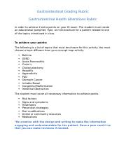 Gastrointestinal Brochure Activity Grading Rubric.docx