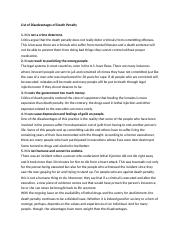 List-of-Disadvantages-of-Death-Penalty (1)