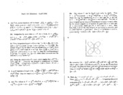 Math 101 Apr 94 Solutions