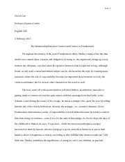 Analyzing a Conflict Essay