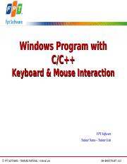 Lesson05.1_Keyboard and Mouse Interaction.ppt
