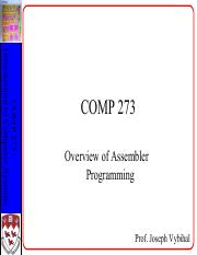 COMP 273 Lecture 16 + 17 - Basic Assembly.pdf