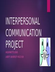 fireproof and interpersonal communication This is a presentation about the movie fireproof.
