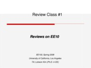 EE 10 Review