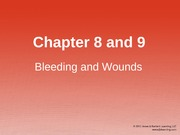 CH08-9 Bleeding and Wounds