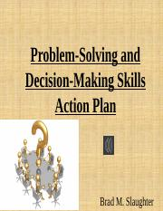 Problem-Solving and Decision-Making Skills Action Plan.pptx
