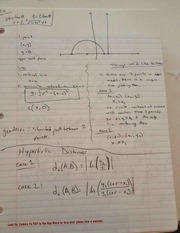 Hyperbolic Distancer Notes