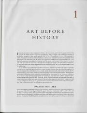Gardner's Art Through the Ages Chapter 1