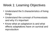 Week 1 Lecture Notes