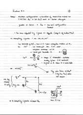 CHEM 40 Spring 2014 Notes on Lecture 17