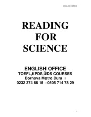 READING4SCIENCE