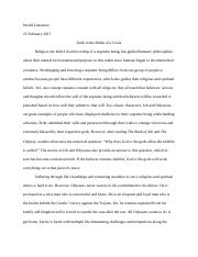 Essay 2 universal truth Job and Odysseus.docx