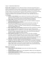 International Ethics Chapter 5 Notes