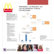 Poster presentation Project- McDonalds
