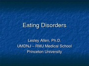 Lesley.Eating Disorders