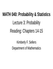 MATH 040 Lecture 3.ppt