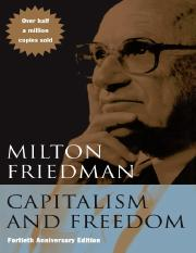 Milton Friedman-Capitalism and Freedom_ Fortieth Anniversary Edition  -University Of Chicago Press (