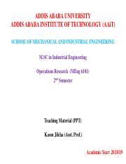 MANAGEMENT - Addis Ababa University - Course Hero