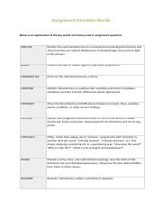 Assignment direction words.pdf