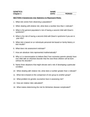 Chapter 1 Section 4 Reading Guide 2013