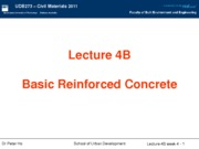 Lect 4B - Basic reinforced concrete 2011