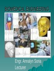 biomedical engineering - lecture1