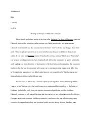 outliers essay #2