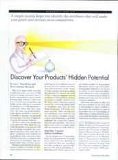 Mcgrath discover your products hidden potential 96