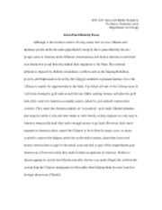 Asian Pan-Ethnicity Essay