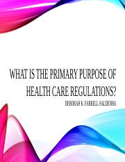 What is the primary purpose of healthcare.pptx