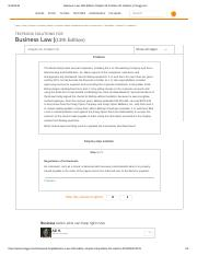 Business Law 13th Edition Chapter 26 Problem 1R Solution _ Chegg.pdf