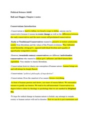 Political Science 1020E 1st Semester Ball and Dagger Chapter 4 notes