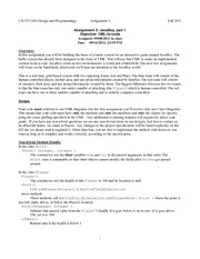 assignment3-fall11-specification v1