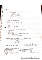 Triangle Types & Characteristics Notes