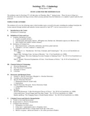 Midterm study guide 08