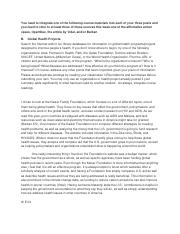 Week 10 Discussion - Global Health.docx