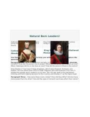 Natural Born Leaders.docx