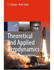J. J. Chattot & M. M. Hafez, Theoretical and Applied Aerodynamics and Related Numerical Methods, Spr