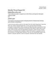 Threat Report 3
