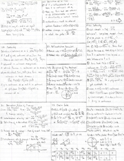 Cheat sheet front and back